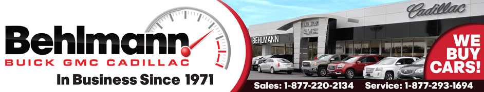 Behlmann Buick GMC Cadillac Credit Help - Helping Folks With Credit Problems Drive Away Since 1971